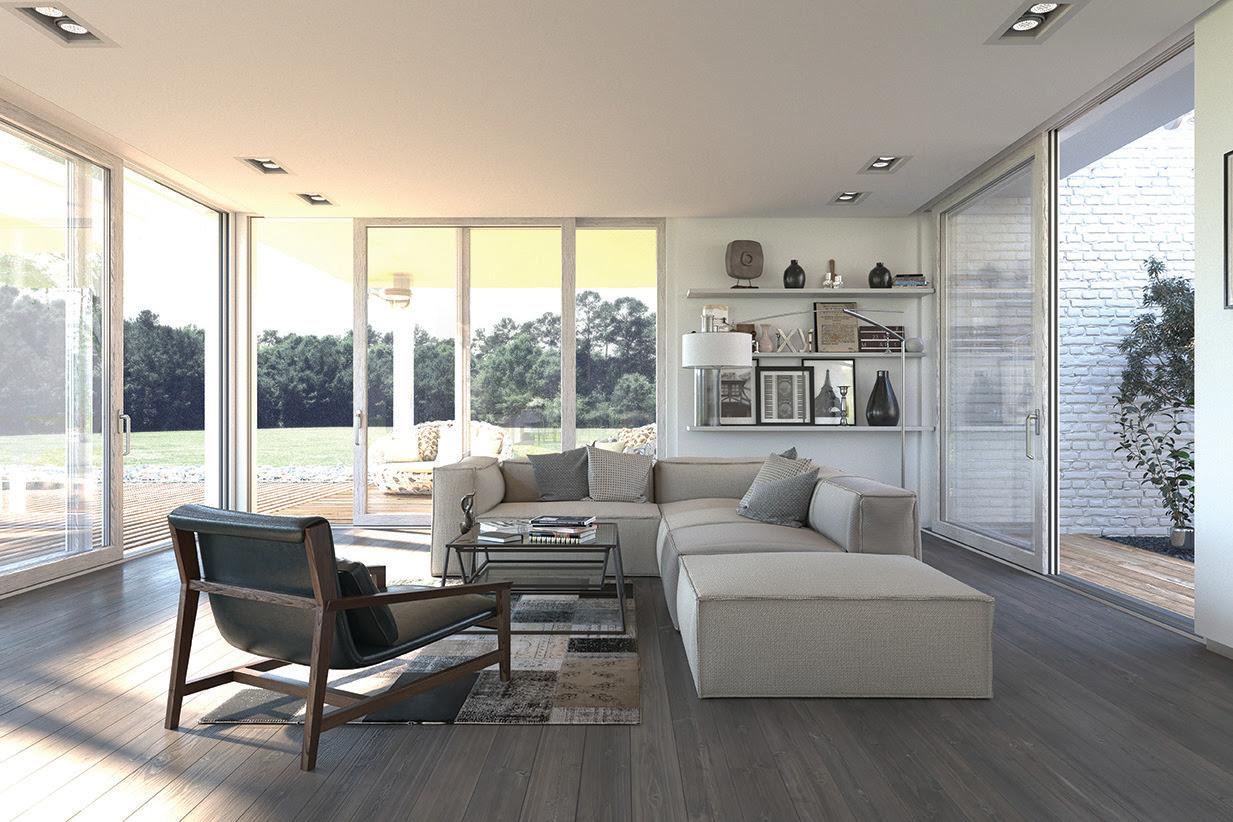 Pvc con rivestimento in vero legno chimera home - Serramenti e finestre opinioni ...